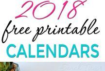 kalender usw 2018