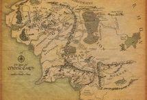 mapa senhor dos anéis