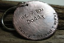 Father's Day / Cute keychain for fathers!