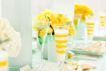 Wedding: Mint + Yellow