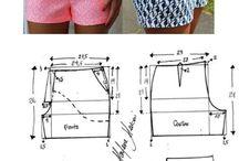Clothes , fabrics, patterns