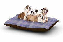 Pet Products by Kess inHouse / DOG BEDS, PET BANDANAS, PET BOWLS, DOG PLACE MATS