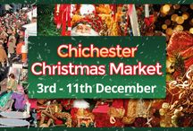 Chichester Christmas Market / Chichester Christmas Market held in Chichester City Centre for 9 days of festive fun. 3rd December until 11th December 2016.