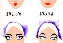 eyeliner through the years