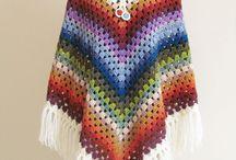 poncho crochet/haken