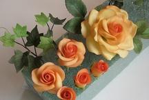 Kvety na tortu