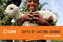 CARE Holiday Gift Guide / Give an unforgettable gift to everyone on your shopping list — a Gift of Lasting Change from gifts.care.org! You, your friends and loved ones will smile every time they remember that their gift helped a mother safely deliver a baby, a farmer grow more food, a family find shelter after a natural disaster, a little boy drink a clean glass of water, and a young woman save enough money to open her own small business. Visit gifts.care.org today!
