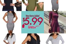 $599 & LESS ITEMS / New Items Reduced to $5.99 & LESS Bigger Savings - Limited Quantity In-Stock!!! Check $5.99 & LESS category – Over 3500 items $5.99 & Less