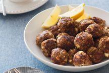 Greek Lamb and Fetta Meatballs