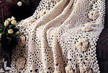 CROCHET vintage blankets