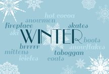 welcome, Winter / Fun winter activities. / by ThisBusyLife <3