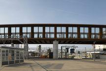 Stratford City Bridge - Case Study / Full Height Glazed Façades have been used for Stratford City Bridge