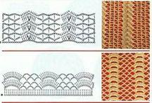 Häkel Muster Diagramme. ....