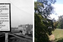 Auschwitz Then & Now / Auschwitz Then & Now comparisons, photos by Michael Challoner