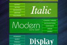 Typography info