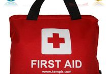 TempIR First Aid Kit /  First Aid Kit Bag for Travel - Car - Home - Travelling - Caravan - Camping - Work