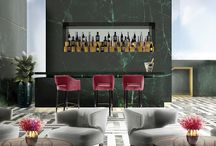 Bar Design Ideas And Counter Stools