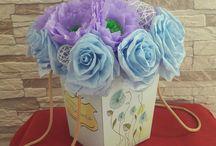 Flori de hartie - Royal flowers / Aranjamente din flori de hârtie, decorațiuni pentru nuntă, pentru casă, cadouri inedite și de suflet.