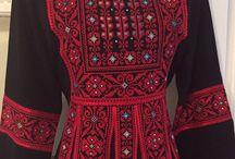 Robes palestiniennes