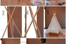 DIY Tent Photo Prop