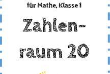 Mathe   1. Klasse / Kostenlose Arbeitsblätter, Übungen und Ideen für Mathe in der 1. Klasse an der Grundschule