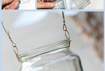 Jars/candle holders :)