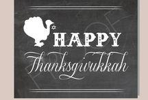 Thanksgivingukkah / by April Deutschman