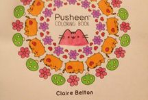 Pusheen Adult Coloring Book