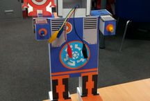 Consumable Robotics / CBiS education produce the consumable robotics kits as a way of incorporating coding into the classroom. You build the kits then use either a BBC micro:bit or CodeBug to help your robots do some pretty cool things!