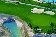 Beautiful golf courses around the world