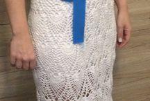 Crochet wedding dress ❤️ / Crochet
