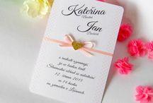 Svatební oznámení / Svatba