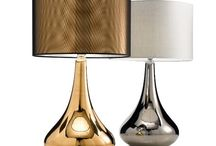 Table Lamps / Our lighting collection ranges from downlighters and table lamps to wall brackets and pendants, from traditional to contemporary and in a comprehensive selection of finishes including antique brass, bronze, chrome and brushed nickel together with a large selection in glass, crystal and murano.