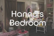 Hanna's Bedroom / Items and photos from the Pretty Little Liars Set!