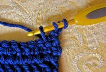 Knit or crochet ~ tutorials