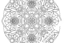 MY ADULT MANDALS COLORING PAGES
