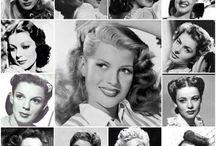 40's 50s 60's inspired hair