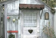 ~Garden Sheds And Tree Houses~ / by Diane Harris-Day