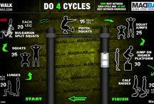Tréningy podle Madbarz.com / Jak si postavit týdenní tréning z rutin, tak aby jste procvičili všechny části těla, nabrali svalovou hmotu nebo se rysli, i tom může být naše nástěnka :))