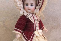 Victorian style dolls and clothes