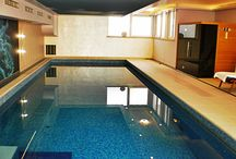 Indoor pool from Zaton / Nivetos new indoor project. Private swimming pool in Zaton, Croatia.
