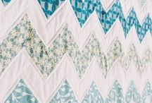 Chevron Quilts / Examples of many different ways of making a chevron quilt