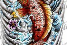 Shoulder water dragon