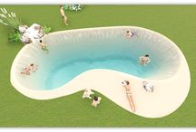 Modelo Muniesa de Piscinas de Arena / Modelo Muniesa (alargada 12x8m)  Cotas de la piscina: Superficie laminar de agua: 52,85m².   Superficie paredes y fondo: 92,46m².  Superficie de playa: 18,36m2.  Volumen de agua: 74,75m³.  Profundidad máxima: 1,6m.  Uso piscina: Privada.  Tipo piscina: Descubierta.  Vaso piscina: Hormigón gunitado.  Conexión Eléctrica: MONOFÁSICA.  Revestimiento: Arena compactada NaturSand®.