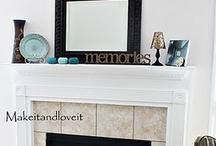 Fireplace Mantels / by Karen Bridge