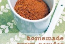 Recipes Spice Combos