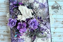 Olga Bielska / Amazing art from Olga Bielska using products from Lindy's