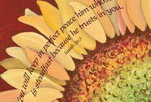 Faith - Bible Journaling Art