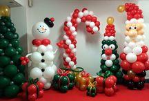 Ballonnen Kerst