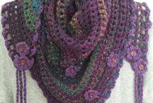 Crochet Corner: Scarves / crochets scarves, scoodies, & shawls